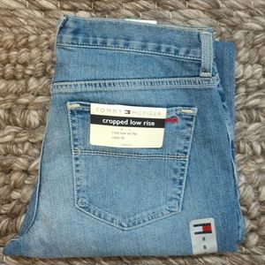 Tommy Hilfiger cropped low rise jeans